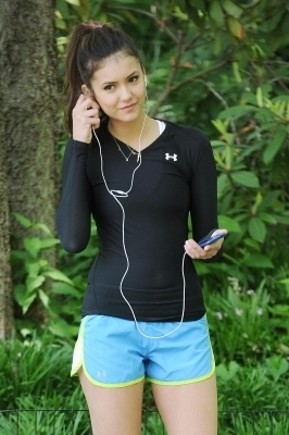 Nina Working On Her Fitness ♥