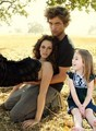 Renesmee and her parents