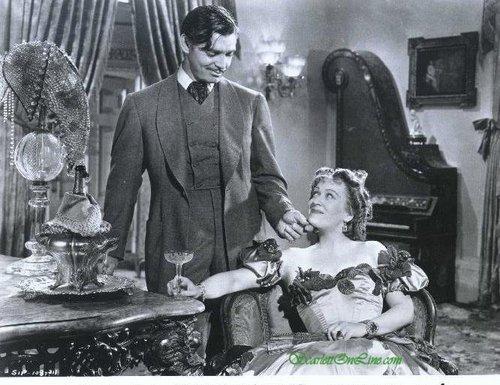 Rhett Buttler and Belle Watling