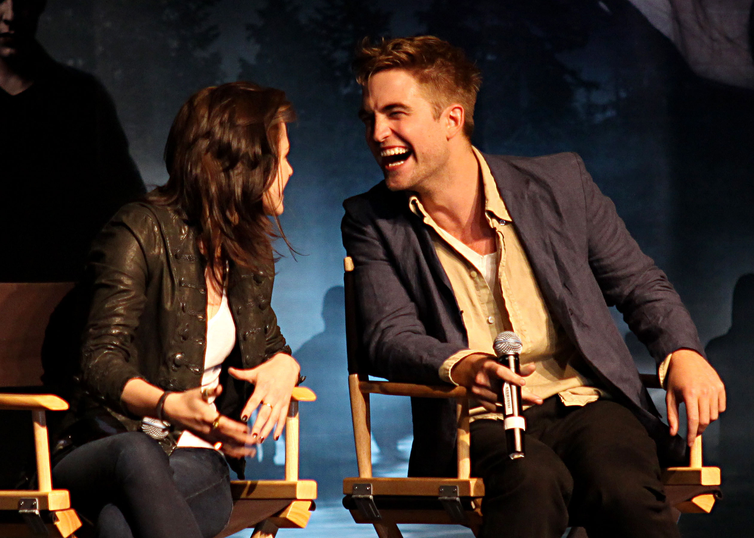 Robert Pattinson, Kristen Stewart Talk 'Eclipse' - Robert ...