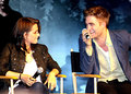 Robert Pattinson, Kristen Stewart & Taylor Lautner Talk 'Eclipse' - twilight-series photo