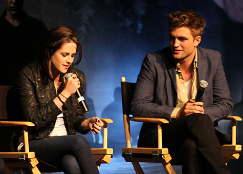 Robert Pattinson, Kristen Stewart & Taylor Lautner Talk 'Eclipse'