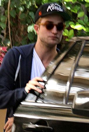 Robert Pattinson Spotted in LA