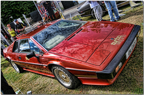 Roger Moore - Lotus Esprit of James Bond in For Your Eyes Only