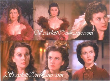 Scarlett O'Hara Collage