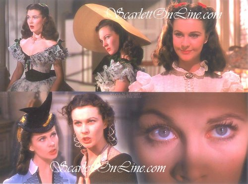 Scarlett O'Hara Collage