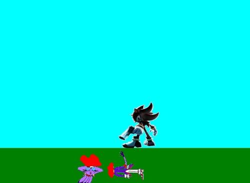 Shadow kills Blaze