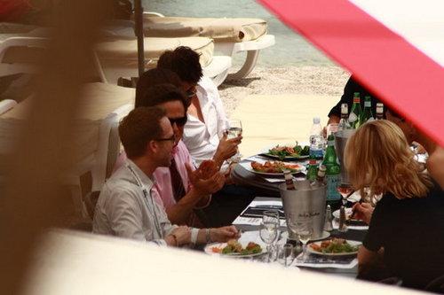 Some stalkerish fotografias of Nina and Ian @ Monte Carlo
