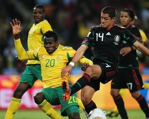 FIFA World Cup South Africa 2010 वॉलपेपर called South Africa vs Mexico