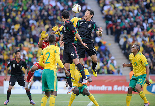 FIFA World Cup South Africa 2010 wallpaper titled South Africa vs Mexico