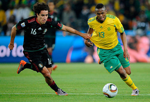 FIFA World Cup South Africa 2010 پیپر وال called South Africa vs Mexico