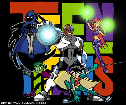 Teen Titans wallpaper titled Teen Titans