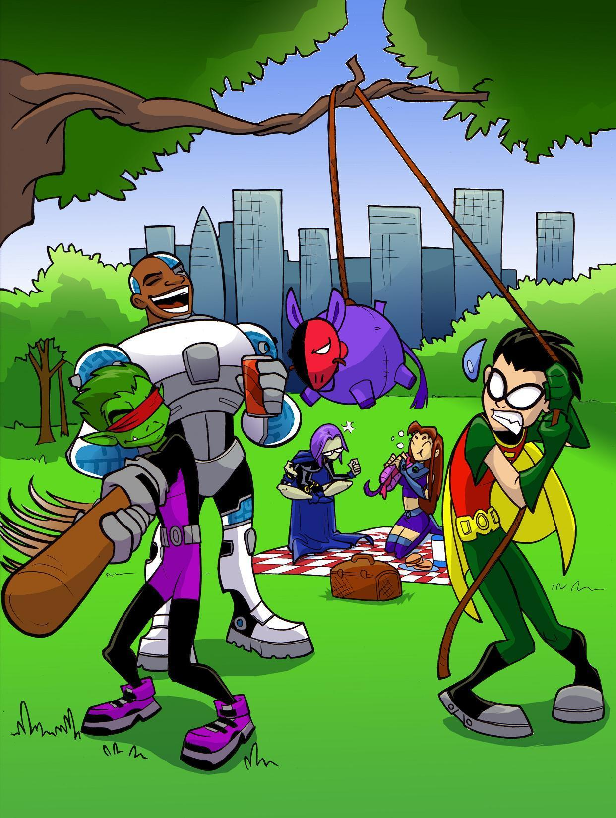 teen titans pictures: