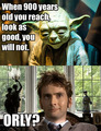 Tenth vs Yoda - doctor-who photo