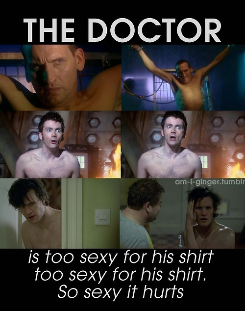 The Doctor is...