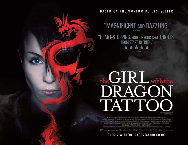 the girl with the dragon tattoo wallpaper. The Girl With The Dragon Tattoo Wallpaper