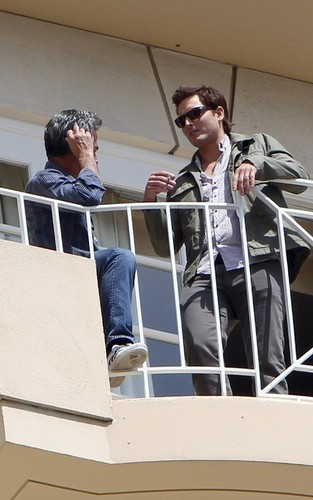 Twilight Cast out in LA