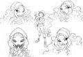 Winx Club Sketches