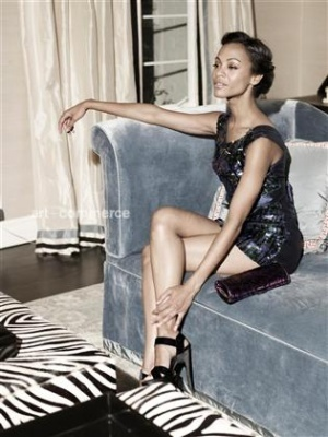 Zoe Saldana wallpaper titled Zoe Photoshoot