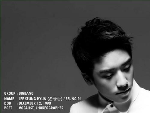bigbang member ! Seungri x)