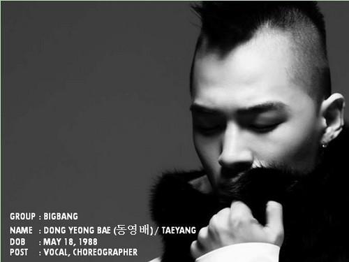 bigbang member ! Taeyang x)