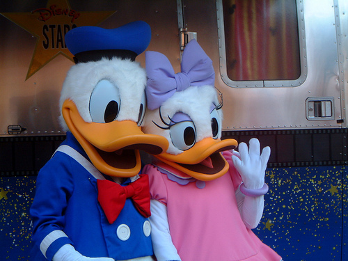 donald duck& margherita
