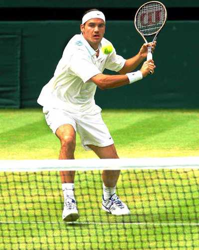 federer young