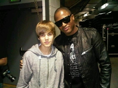 justin bieber and Taio Cruz