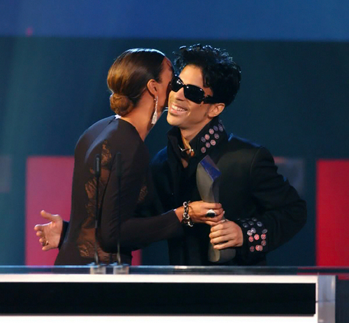 Prince and Beyoncé
