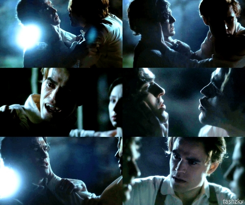 Damon and Stefan Salvatore 壁紙 entitled stefan and damon 1864