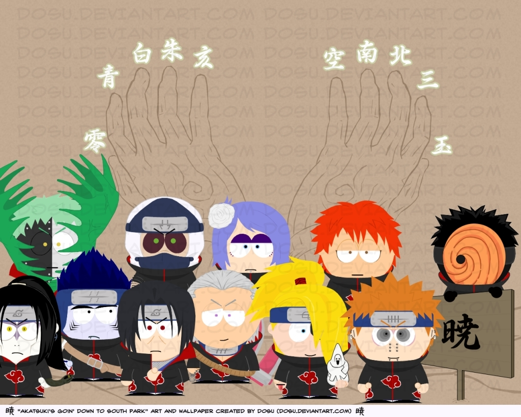 Akatsuki South Park Stylexd