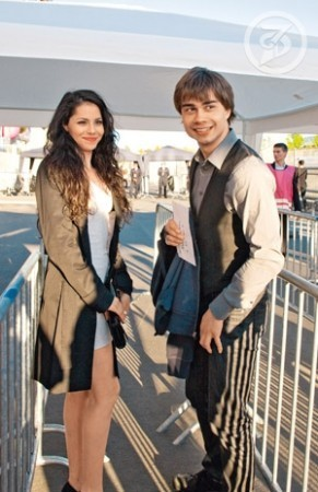 Alexander Rybak wallpaper called Alexander's  new girlfriend??