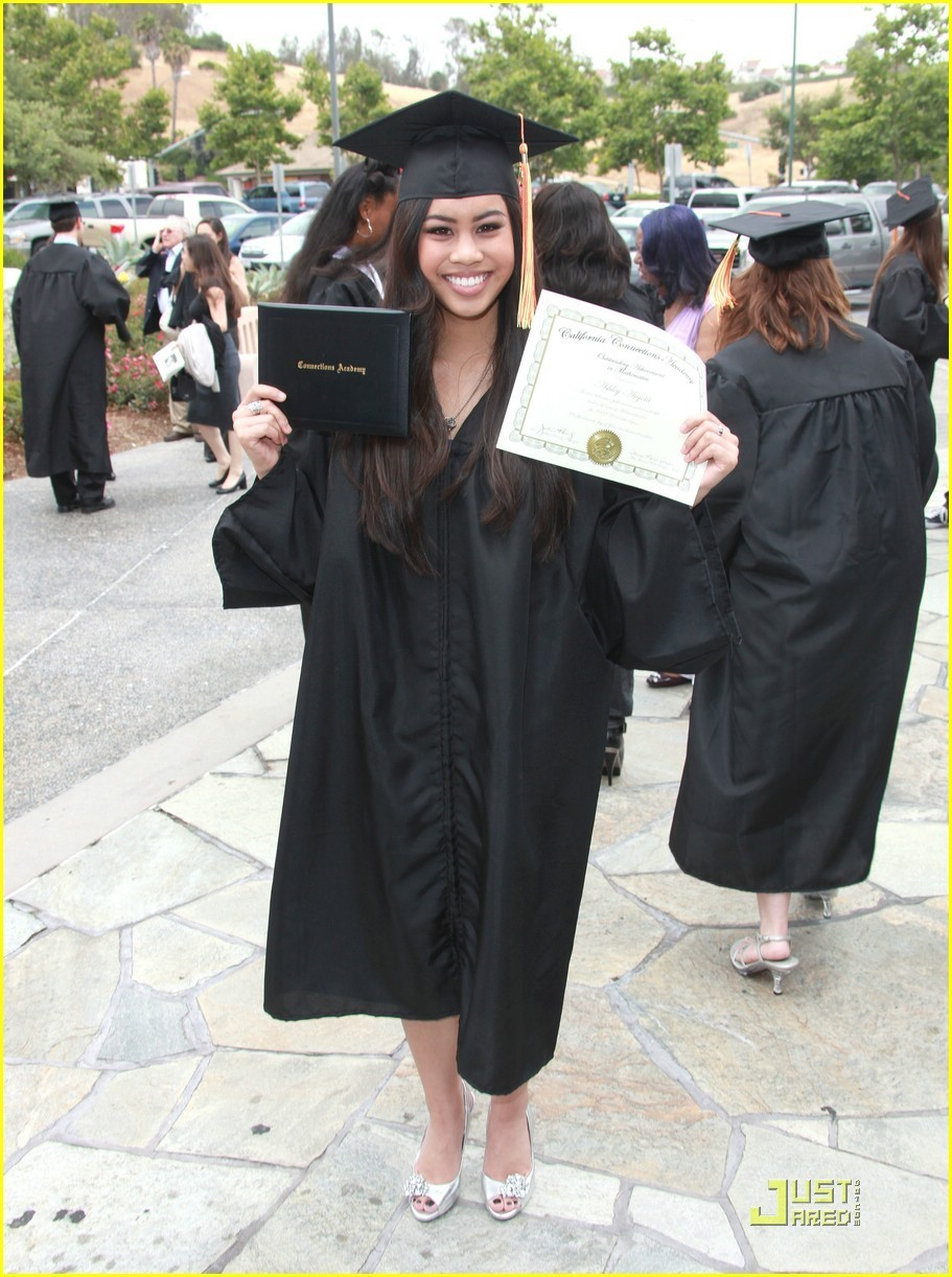 Ashley Argota Graduates — IN