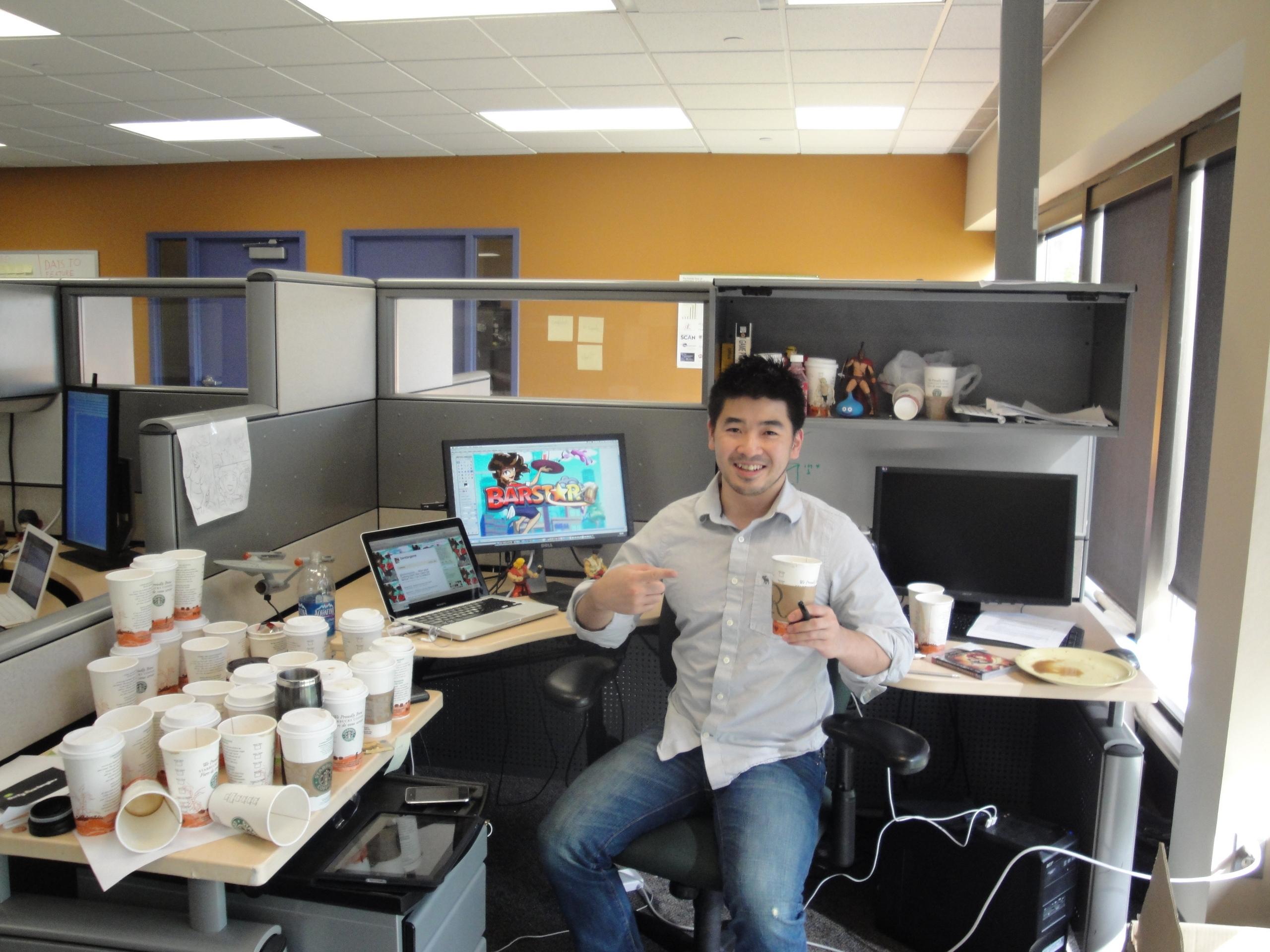 BarStar Loves Starbucks!