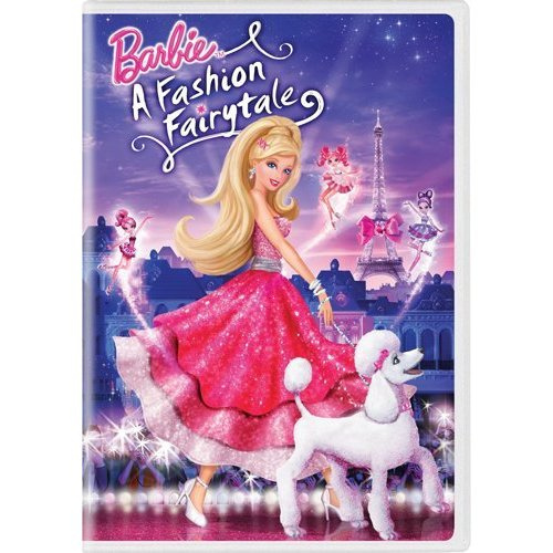 barbie A Fashion Fairytale D.V.D