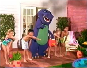 barney and the backyard gang barney the purple dinosaur 13072444 284