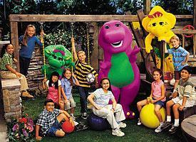 Barney the Purple Dinosaur wallpaper entitled Barney