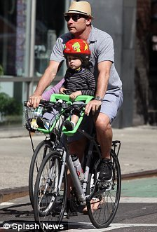 Biking for Liev and Son