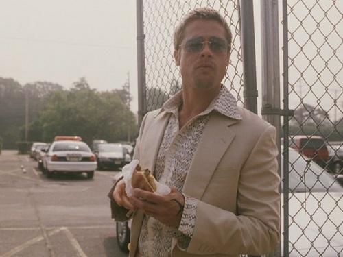 "Brad Pitt wallpaper titled Brad Pitt in ""Ocean's Eleven"""