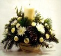 Candle Table Centrepiece