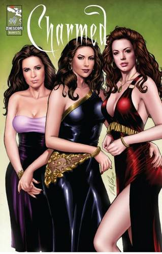 Charmed cover for Issue #0
