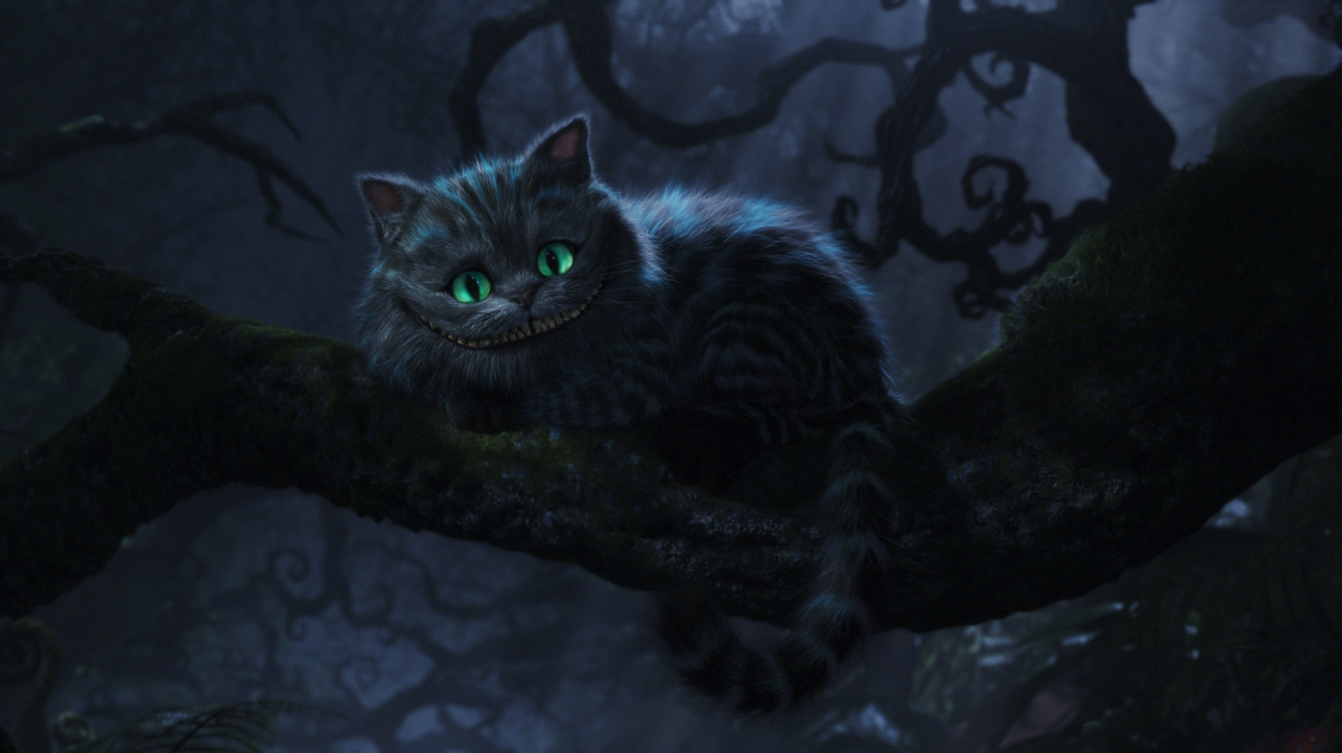 Alice in Wonderland Cheshire Cat Tim Burton