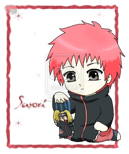 Hd wallpaper rainbow - Akatsuki Chibi Sasori Images Amp Pictures Becuo