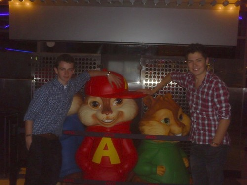 Damian and Conor with Alvin(: