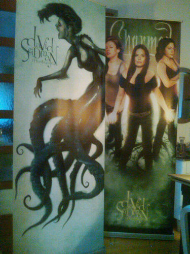 David Seidman's charmed cover issue #1 banner