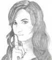 Drawing Of Demi Lovato - selena-gomez-and-demi-lovato fan art