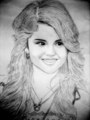 Drawing Of Selena Gomez