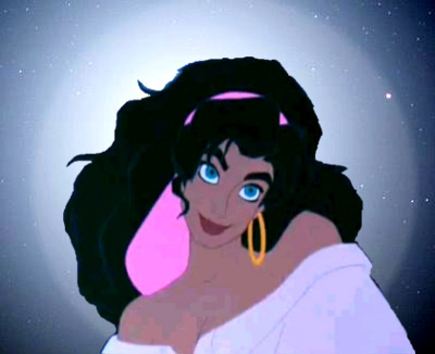 Childhood Animated Movie Heroines پیپر وال titled Esmeralda