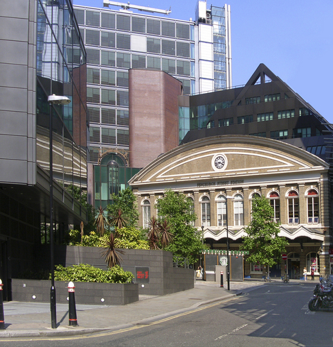 FENCHURCH jalan, street STATION