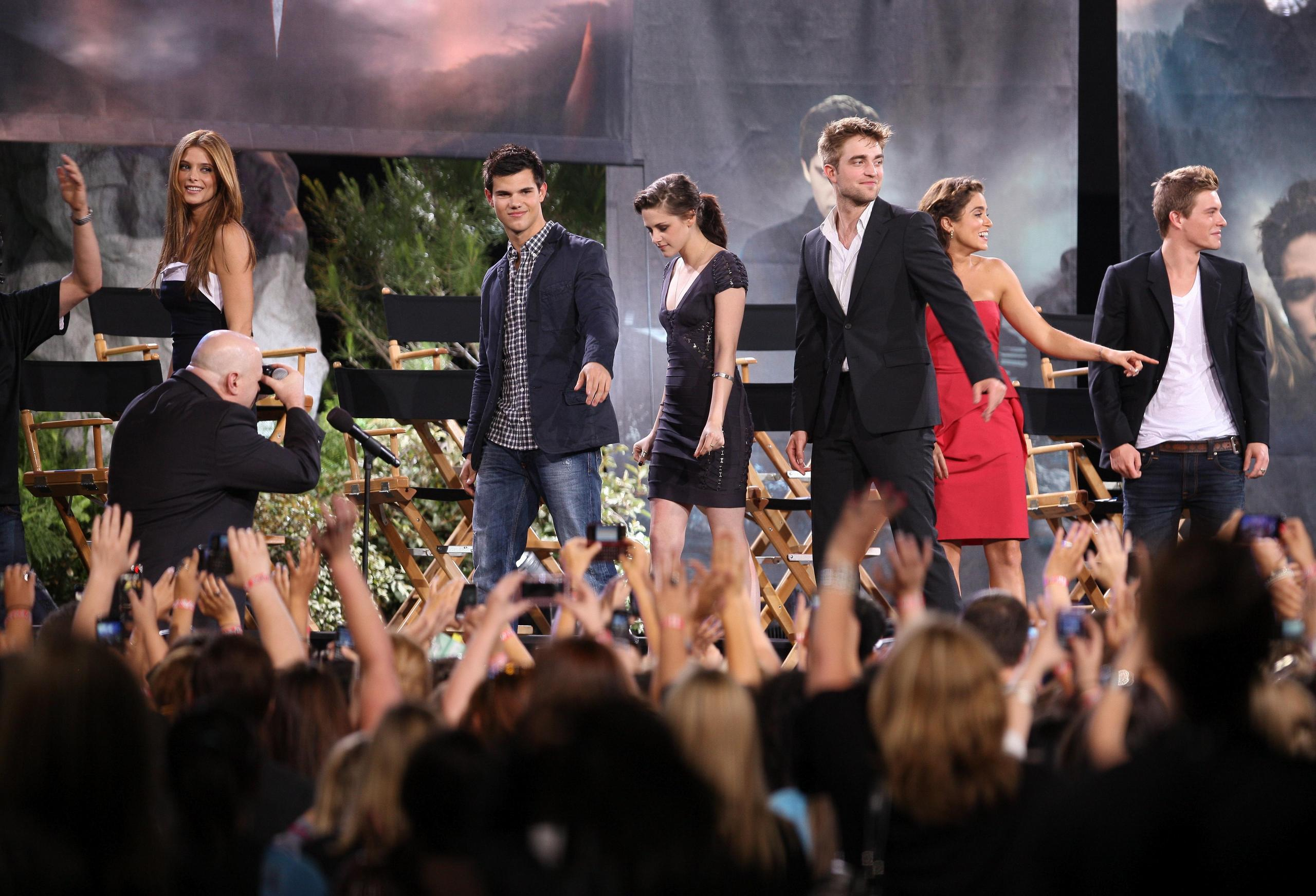 """Filming """"Jimmy Kimmel"""" """"Eclipse"""" Special, June 14, 2010 [HQ]"""